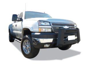 Modular Bull Bar - Black Carbon Steel - 2007-2010 GMC Sierra 3500 Not for Models w/Parking Sensor