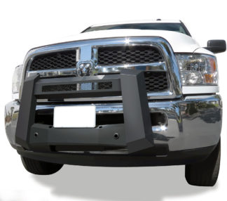 Modular Bull Bar - Black Carbon Steel - 2010-2018 Ram 3500 With/ Without Parking Sensor