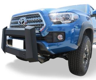 Modular Bull Bar - Black Carbon Steel - 2005-2018 Toyota Tacoma Not for Models w/Parking Sensor