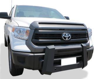 Modular Bull Bar - Black Carbon Steel - 2007-2018 Toyota Tundra Not for Models w/Parking Sensor