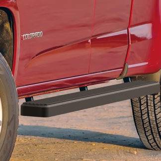 iStep 4 Inch Running Boards 2015-2018 Chevy Colorado Extended Cab2015-2018 GMC Canyon Extended Cab
