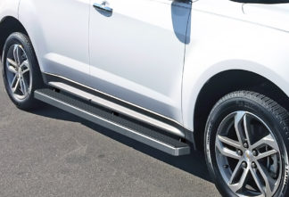 iStep 4 Inch Running Boards 2010-2017 Chevy Equinox / 2010-2017 GMC Terrain (Excludes Denali Models)