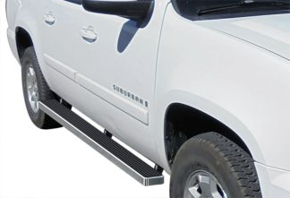 iStep 4 Inch Running Boards 2000-2018 Chevy Suburban 1500 (Excl.00-06 Z71 models with lower body cladding and factory tube steps) 2000-2018 GMC Yukon XL 1500 (Excl. Denali lower body cladding) 2002-2013 Chevy Avalanche 1500 with body cladding