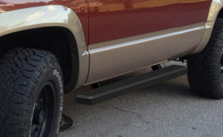 iStep 4 Inch Running Boards 1988-1998 Chevy / GMC C/K Pickup Regular Cab (Incl. Z71) 1992-1994 Chevy Blazer 2-Door (Full Size Excl. ZR2) 1992-1999 GMC Yukon 2-Door 1995-1999 Chevy Tahoe 2-Door