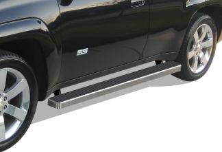 iStep 4 Inch Running Boards 2002-2009 Chevy Trailblazer / GMC Envoy