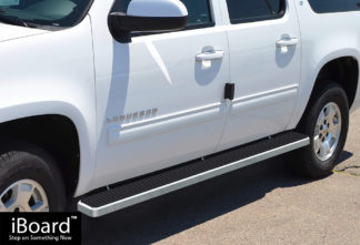 iStep 4 Inch Running Boards 2000-2014 Chevy Suburban 3/4 Ton (Excl. 01-10 Z71 Model) 2000-2014 GMC Yukon XL 3/4 Ton