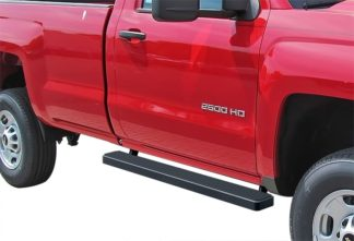 iStep 4 Inch Running Boards 1999-2013 Chevy Silverado / GMC Sierra 1500/2500/3500 Regular Cab (Excl. C/K Classic Body Style)