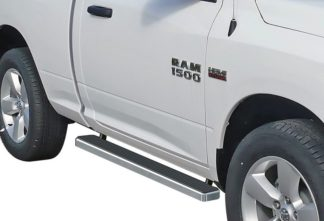 iStep 4 Inch Running Boards 2009-2018 Dodge Ram 1500 Regular Cab 2010-2018 Dodge Ram 2500/3500/4500/5500 Regular Cab