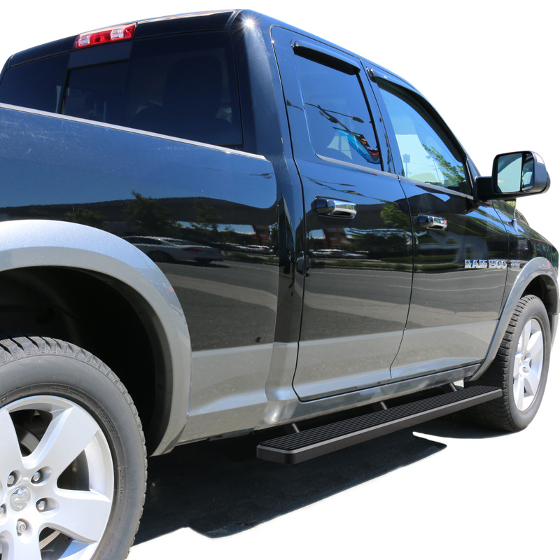 4 Inch Running Boards Side Step For Ram 1500 2500 3500: IStep 4 Inch Running Boards 2009-2018 Dodge Ram 1500 Crew