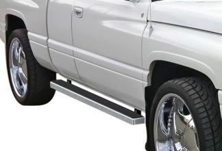 iStep 4 Inch Running Boards 1994-2001 Dodge Ram 1500 Club Cab 1994-2002 Dodge Ram 2500/3500 Club Cab 1998-2001 Dodge Ram 1500 Quad Cab (Excl. 02 Body Style Sold in 2001) 1998-2002 Dodge Ram 2500/3500 Quad Cab