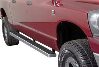 iStep 4 Inch Running Boards 2006-2008 Dodge Ram 1500 Mega Cab 2006-2009 Dodge Ram 2500/3500 Mega Cab