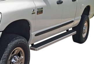 iStep 4 Inch Running Boards 2002-2008 Dodge Ram 1500 Quad Cab 2003-2009 Dodge Ram 2500/3500 Quad Cab
