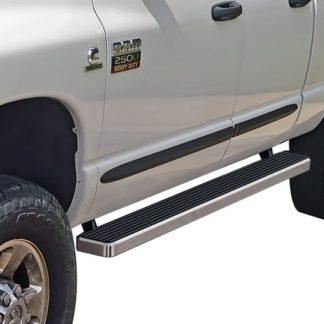 iStep 4 Inch Running Boards 2002-2008 Dodge Ram 1500 Quad Cab 2003-2009 Dodge Ram 2500/3500 Quad Cab
