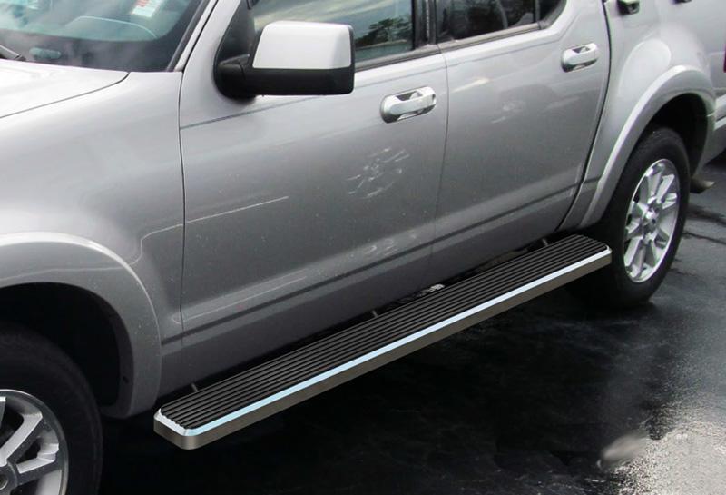 "3/"" Black Side Step Nerf Bar Running Board for 2007-2010 Ford Explorer Sport Trac"