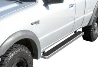 "iStep 4 Inch Running Boards 1999-2011 Ford Ranger Super Cab 4-Door 1999-2011 Ford Ranger ""EDGE"" Super Cab 4-Door 1999-2011 Mazda B-Series Super Cab 4-Door"