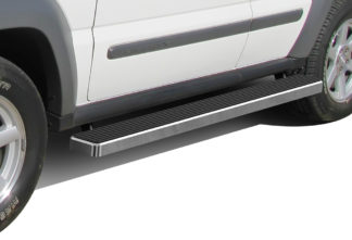 iStep 4 Inch Running Boards 2002-2007 Jeep Liberty (Without Mudflaps