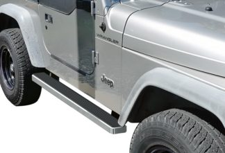 iStep 4 Inch Running Boards 1987-2006 Jeep Wrangler