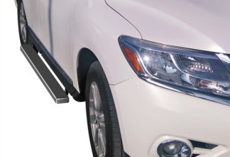iStep 4 Inch Running Boards 2013-2017 Infinti QX60 2013-2018 Nissan Pathfinder (Excl. 15 Platinum Model)