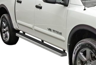 iStep 4 Inch Running Boards 2004-2018 Nissan Titan Crew Cab / 2016-2018 Nissan Titan XD Crew Cab