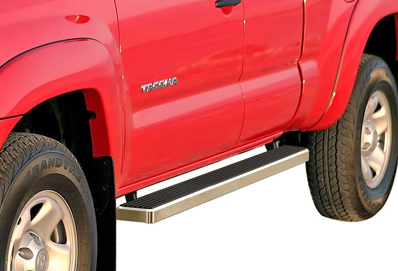 iStep 4 Inch Running Boards 2005-2018 Toyota Tacoma Extended Cab or Access Cab