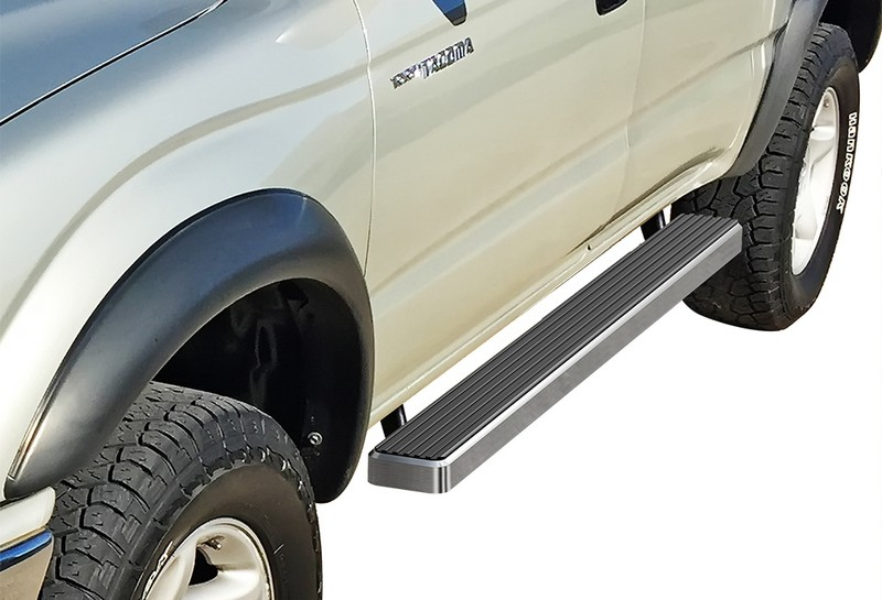 iStep 4 Inch Running Boards 2001-2004 Toyota Tacoma Double Cab