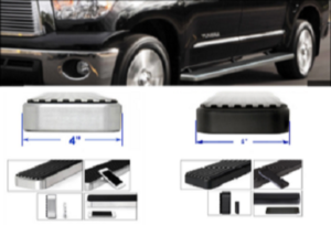 iStep 4 Inch Running Boards