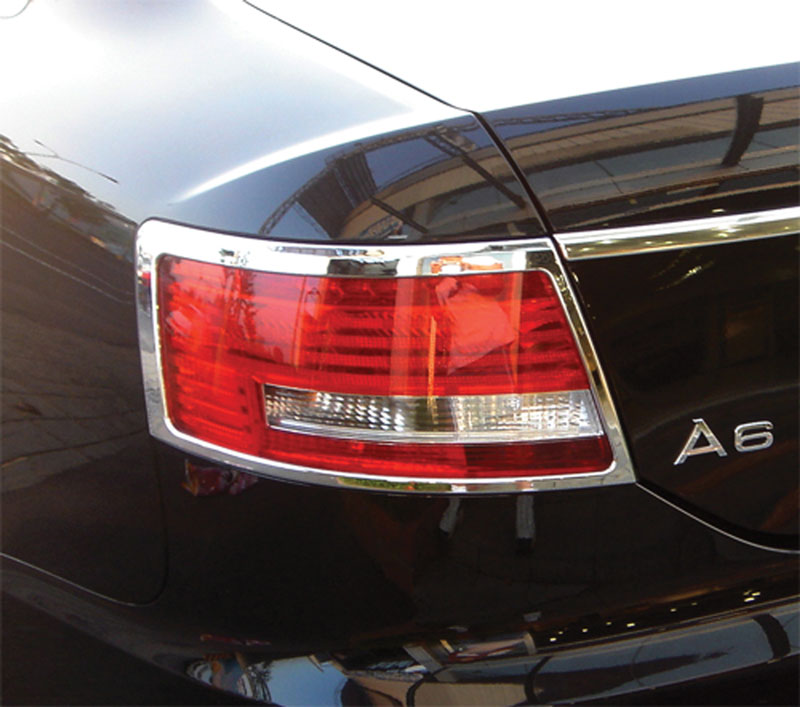ABS Chrome Tail Light Bezel 2005 - 2008 Audi A6