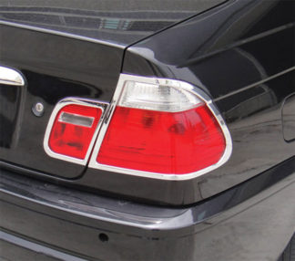 ABS Chrome Tail Light Bezel 4-Pc 1999 - 2005 BMW 3-Series