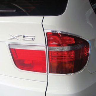 ABS Chrome Tail Light Bezel 4-Pc 2007 - 2010 BMW X5
