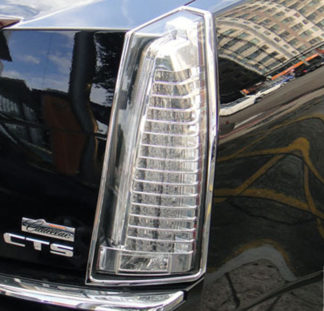 ABS Chrome Tail Light Bezel 2008 - 2013 Cadillac CTS