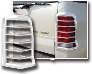 ABS Chrome Tail Light Bezel **SPECIAL** 2002 - 2006 Cadillac Escalade
