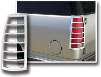 ABS Chrome Tail Light Bezel 1999 - 2001 Cadillac Escalade