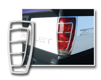 ABS Chrome Tail Light Bezel Ver.2 2002 - 2006 Chevy Avalanche