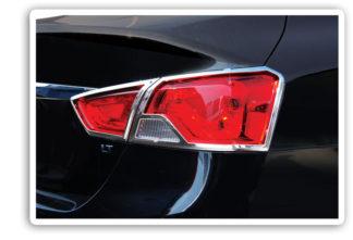 ABS Chrome Tail Light Bezel Exludes 14 Limiteed Edition 2014 - 2016 Chevy Impala
