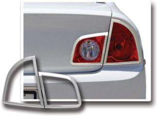 ABS Chrome Tail Light Bezel 4-Pc 2008 - 2012 Chevy Malibu