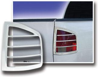 ABS Chrome Tail Light Bezel 1994 - 2004 Chevy S10