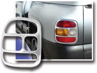 ABS Chrome Tail Light Bezel 1999 - 2006 Chevy Silverado