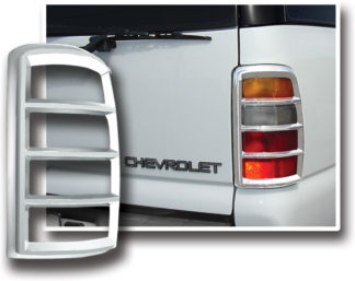 ABS Chrome Tail Light Bezel **SPECIAL** 2000 - 2006 Chevy Suburban | Tahoe