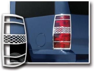 ABS Chrome Tail Light Bezel **SPECIAL** 2007 - 2013 Chevy Suburban