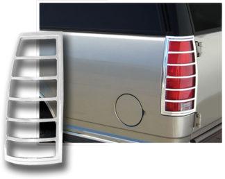 ABS Chrome Tail Light Bezel 1992 - 1999 Chevy Suburban | Tahoe