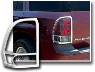 ABS Chrome Tail Light Bezel **SPECIAL** 2002 - 2009 Chevy Trailblazer
