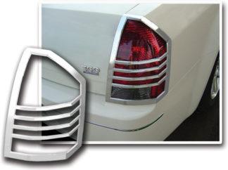 ABS Chrome Tail Light Bezel 2005 - 2007 Chrysler 300 | 300C