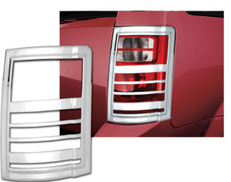 ABS Chrome Tail Light Bezel **SPECIAL** 2008 - 2010 Chrysler Town & Country