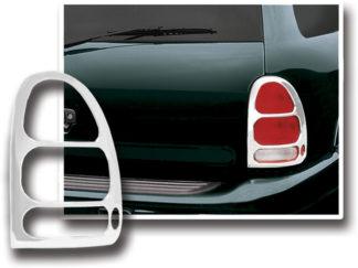 ABS Chrome Tail Light Bezel 1998 - 2003 Dodge Durango