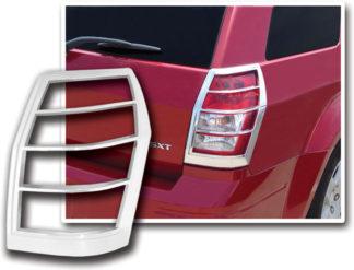 ABS Chrome Tail Light Bezel 2005 - 2008 Dodge Magnum