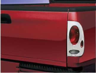 ABS Chrome Tail Light Bezel Euro-Style Cover 1999 - 2003 Ford F250