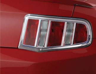 ABS Chrome Tail Light Bezel **SPECIAL** 2010 - 2012 Ford Mustang