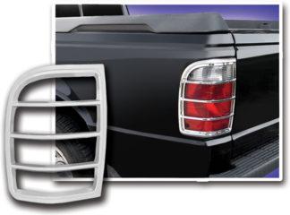ABS Chrome Tail Light Bezel 2001 - 2005 Ford Ranger