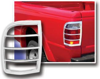 ABS Chrome Tail Light Bezel **SPECIAL** 1998 - 1999 Ford Ranger