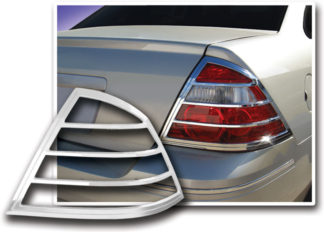 ABS Chrome Tail Light Bezel 2008 - 2009 Ford Taurus